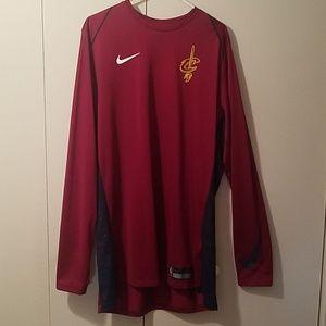 Long sleeve Xl tall nike cleveland cavs shirts